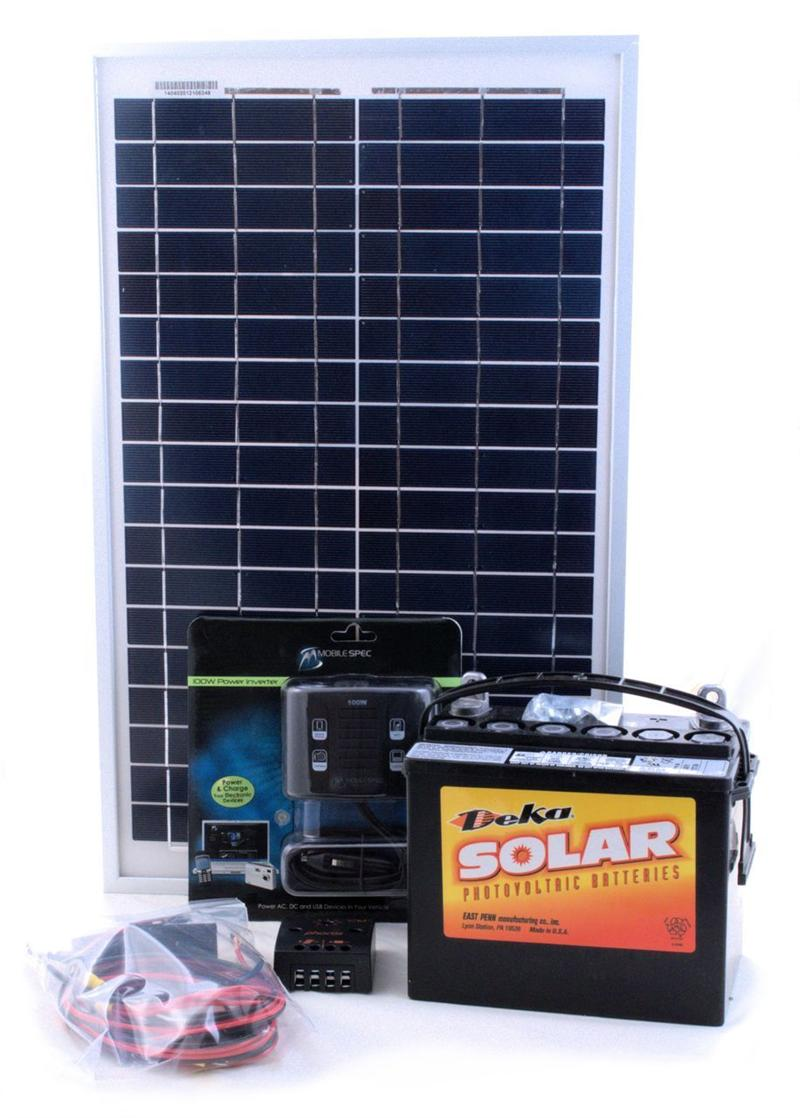 20w Do It Yourself Solar Energy Starter Kit